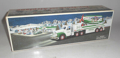 VINTAGE 2002 Hess Toy Truck and Airplane MINT IN ORIGINAL BOX NEVER USED