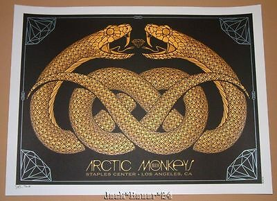 Arctic Monkeys Todd Slater Los Angeles Poster Print Signed Numbered Artist Proof