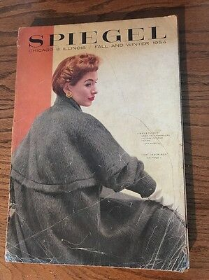 1954 Spiegel Fall and Winter catalog vintage fashion toys pedal cars