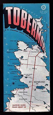 Vintage Brochure- TOBERMORY, ONTARIO, CANADA - Accommodations, Maps, Attractions