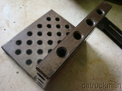 """4"""" x 4"""" x 5"""" Angle Plate w/ Multitude of Mounting Holes, Some Threaded"""