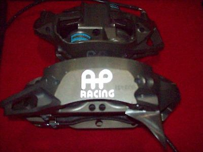 Nascar Ap 4 Piston Cp 5836 4 So / 5 So Front Calipers With Pads Lines