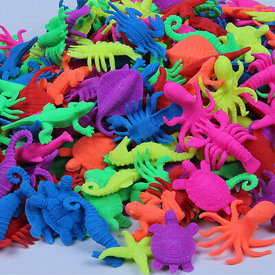 20pcs Middle Size Kids Growing TOYS Expansion Toys Play Learn Sea Animals