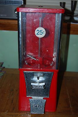 "25 cents Eagle Candy Vending Machine Gumball 17"" NICE"