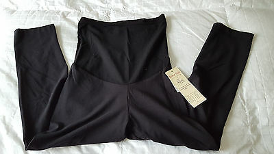 NWT  Oh Baby by Motherhood Maternity  Lounge Capri Leggings  Sz. M  NEW  Black