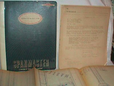 SPANMASTER Ferret SYSTEM Specification MONORAIL Catalog BROCHURE Schematic LOT