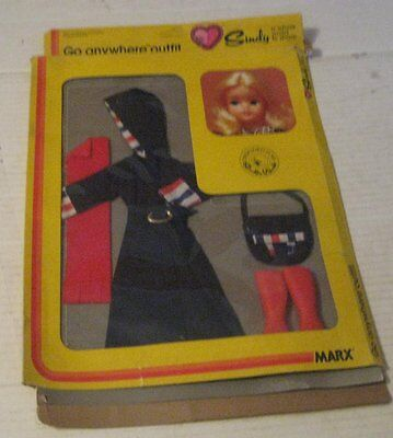 Marx SINDY doll accessory outfit..   Go Anywhere Outfit,,,1979 MIP