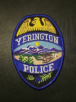 Yerington Nevada Police  Shoulder  Patch