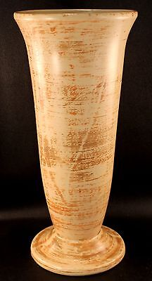 "Hull Art Pottery # 29 Vase 12"" Tall Tan Brown Vase EXCELLENT CONDITION"