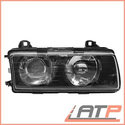 1X Headlamp H1/h1 Complete Right Bmw 3 Series E36 Convertible Coupe 90-94