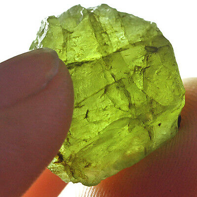 24.1CT 100% Natural Peridot Facet Rough Specimen YGLb3170