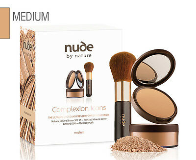 Nude by Nature Complexion Icons Pack - Medium
