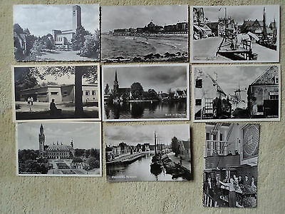 14 B&W PC's, some RP of Holland. 9 posted 1956 to Ward, South Norwood..