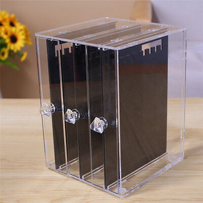 Clear Earrings Ear Studs Organizer Holder Necklace Jewelry Display Rack Stand