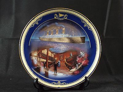 Decorative Plate by James Griffin BRADEX Queen of the Ocean ' The First-Class'