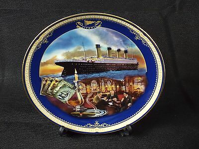 Decorative Plate by James Griffin BRADEX Queen of the Ocean 'The Smoking Room'