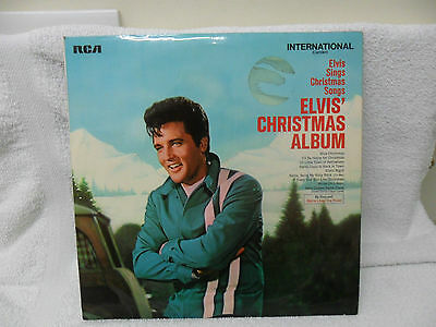 "Elvis Presley "" Elvis' Christmas Album "" Vinyl Lp Int 1126 (1970)"