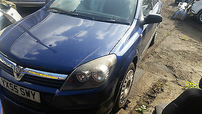 2005 Vauxhall Astra Life Twinport S-A Blue 1.6 Twinport Semi Auto Automatic
