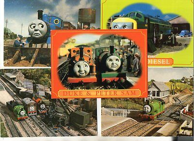 10 postcards of THOMAS THE TANK ENGINE CHARACTERS books & tv series