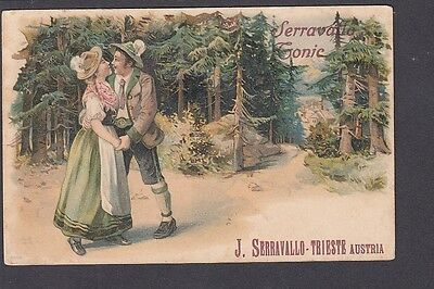 Italy - Advertising Serravallo's Tonic Trieste - Couple in Forest