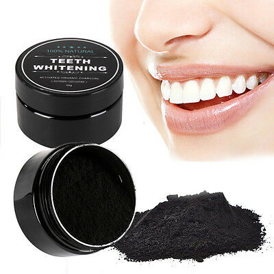 Black Activated Charcoal Teeth Whitening Powder Oral Hygiene Products