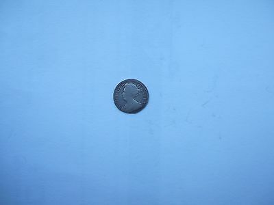 1707 Queen Anne  Maundy Threepence