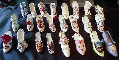 Compton & Woodhouse Miniature Shoe Collection 23 to Choose Coalport Spode Etc