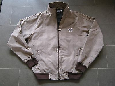 VINTAGE, not retro 1970's Fred Perry Prince Of Wales cagoule Harrington jacket.