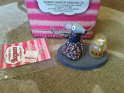 Robert Harrop Bagpuss Millie Mouse Figure - Damaged