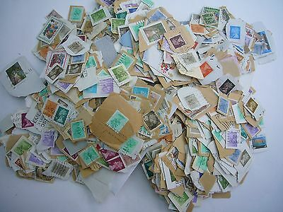 375g Used (Mainly Low Value) GB stamps Kiloware.