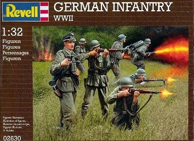 MD model / Revell 02630 German Infantry WWII scala 1/32