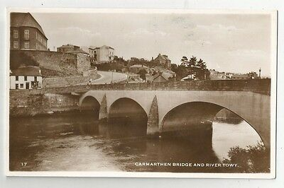 re wales welsh postcard carmarthen