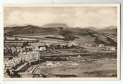 re wales welsh postcard criccieth