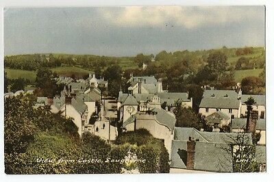 re wales welsh postcard lougharne