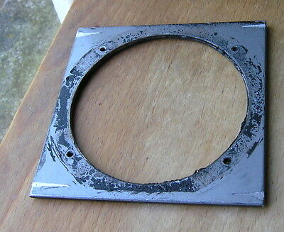 "Calumet 4x4"" metal  lens board panel  with 84.4mm  hole 105822"