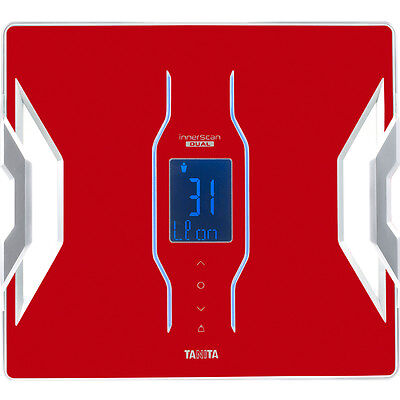 Tanita Bluetooth Connected Smart échelle Analyse Corporelle - Rouge RD953RD