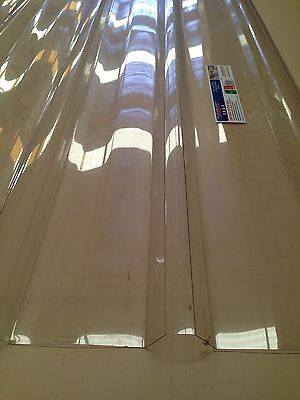 Polycarbonate Roofing Sheets 5.4 M Lengths - Clear