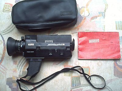 Vintage Eumig Mini 5, Macro Zoom Camcorder with case Instructions