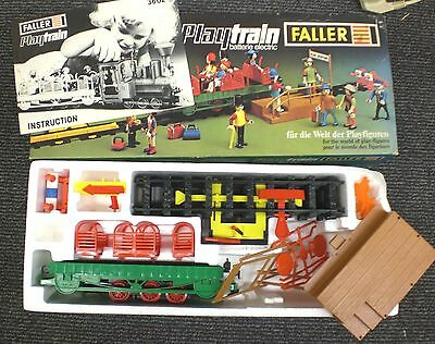 3613 FALLER Holiday electric Eisenbahn OVP Neu MIB Vintage Toy 1970er Playtrain