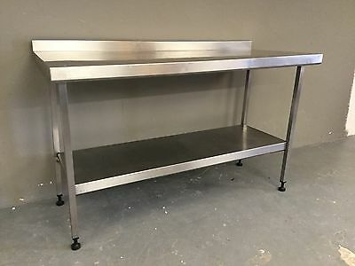 Commercial Catering Stainless Steel Work Bench Prep Table Unit