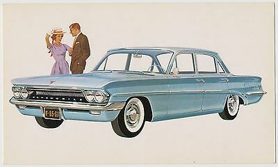 1961 Oldsmobile F-85 DeLuxe 4-Door Sedan - Dealer Postcard