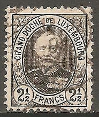 1893 Luxembourg 2½f. Grand Duke Adolf SG 134 Used (Cat £34)