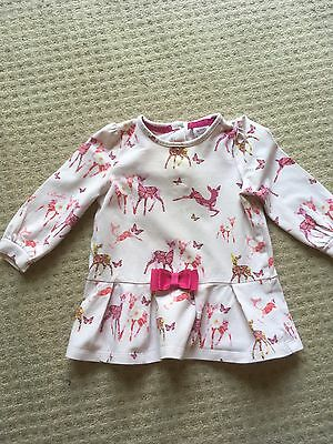 Baby Girls Pink Summer Top Age 6-9 Months Ted Baker