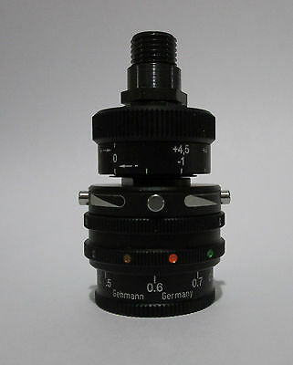 #575 Gehmann Rearsight Iris,  6 color Filters, Twin Polarisers & 1,5X Diopter