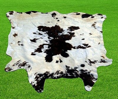 """New Cowhide Rugs Area Cow Skin Leather  Hair missing(47""""x 44"""") Cow hide SA-1025"""