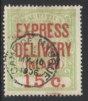 Mauritius 1904 Express Delvery Sge6 Used