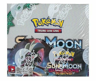 Pokemon Sun & Moon Guardians Rising Booster Factory Sealed Box New