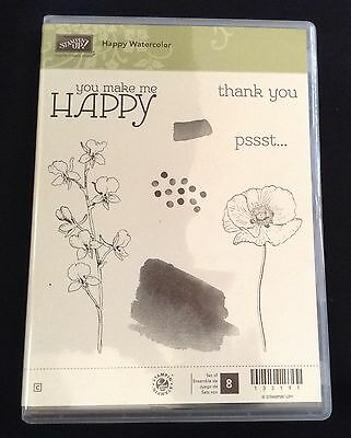Stampin' Up Happy Watercolour Clear Stamp Set