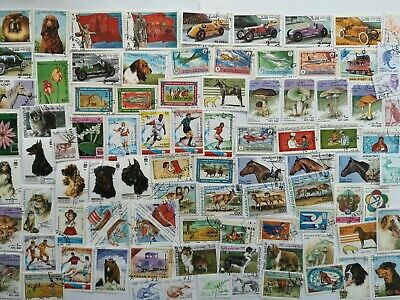 500 Different Afghanistan Stamp Collection