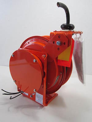 Hubbell G-383 Heavy Duty All-Welded 20 Amp Cable Reel with 25' of 12/3 Cable New